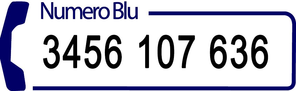 Numero Blu San Martin Info Prodotti